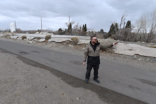 Aric Shapiro, former development director of the Generator, is pictured last year at the Generator's future property.