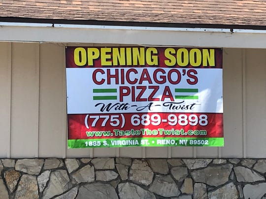 Chicago's Pizza with a Twist, coming to Midtown Reno, offers traditional pies and pies with Indian-inspired toppings.