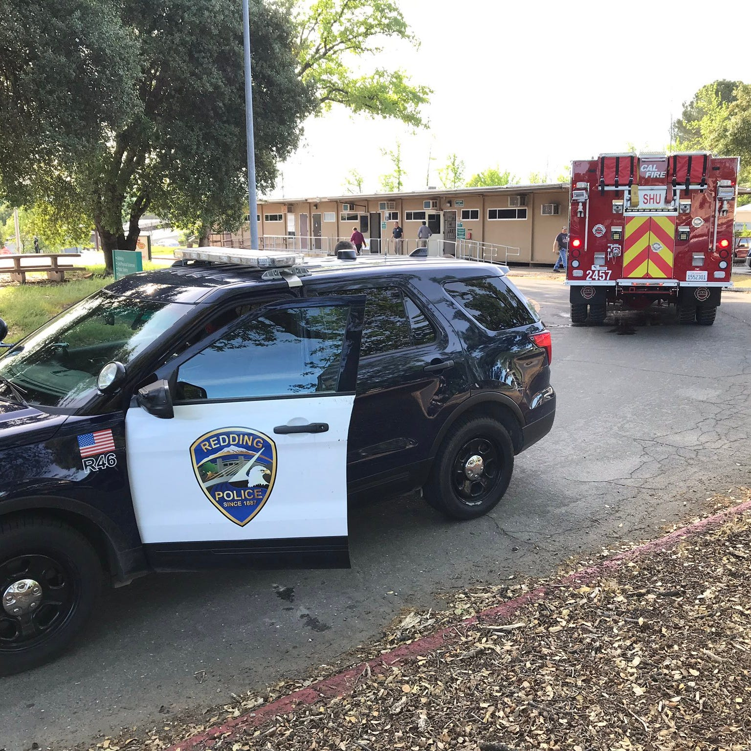 Witness: Redding police officers injured at Shasta College