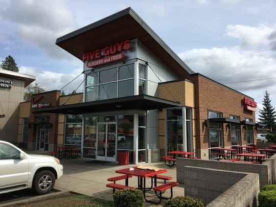 Five Guys Burgers and Fries, located at 2990 Commercial St. SE, scored a perfect 100 on its semi-annual inspection March 19.