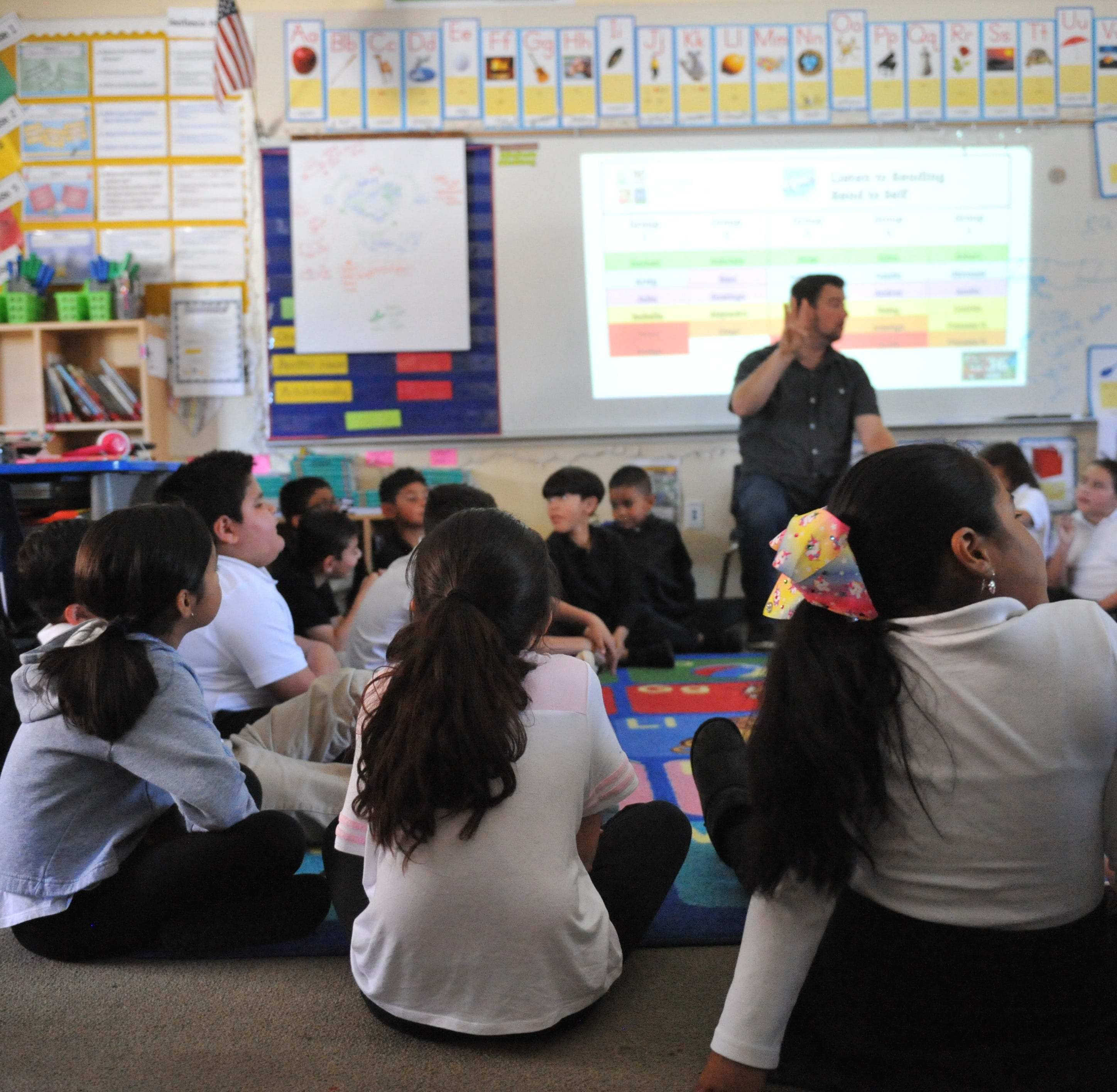 Salinas students at Monte Bella Elementary practice mindfulness for trauma, stress