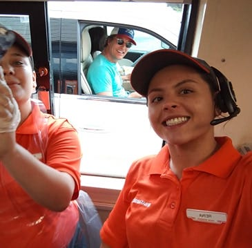 Actor Matthew McConaughey's visit to Whataburger drive-thru: 'Alright, alright, alright'