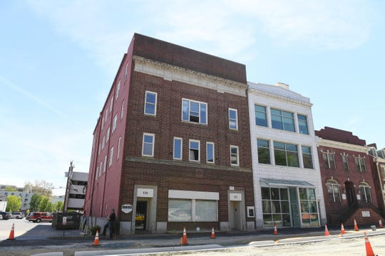 """Salisbury developer Nick Simpson will develop the East Main Street buildings into a 12-story """"high-rise"""". It's set to be Salisbury's tallest building. The Ross building is planned to also have a sky walk attaching the building to the downtown parking garage."""