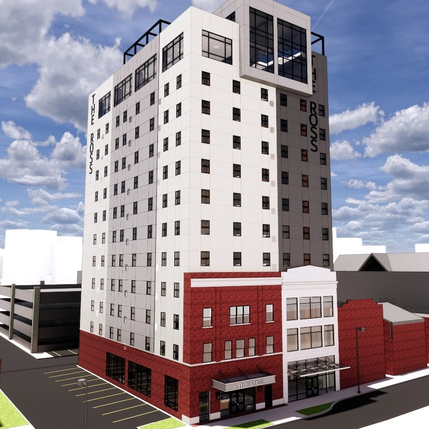 'Changing the skyline': Downtown Salisbury to be reshaped by high-rise apartment complex