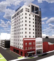 The Ross, a 12-story apartment building coming to downtown Salisbury, is expected to wrap up construction and open to tenants in late 2020.