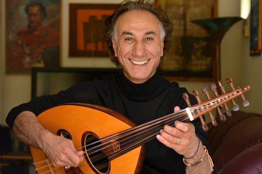 The Rahim Alhaj Trio will be performing at the 2019 National Folk Festival.