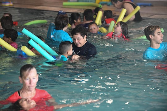 The Sussex Family YMCA held its 14th Annual Water Safety Week Program. Swim instructors and volunteers helped non-swimmers get familiar with being in the water and to teach them how to remain safe on Monday, April 22, 2019.
