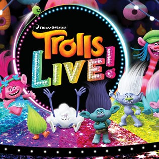 'Trolls' LIVE! will be performed in Bossier City