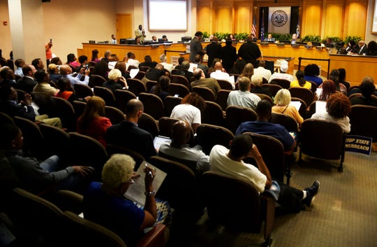 Shreveport City Council at Government Plaza.