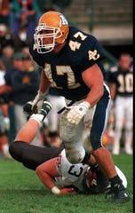 Bryan Schwartz, LB, Augustana, 2nd round in 1995 to Jacksonville