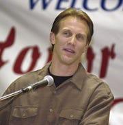 Brian Hansen, P, USF, 9th round in 1984 to New Orleans. Hansen is shown here in 2000.