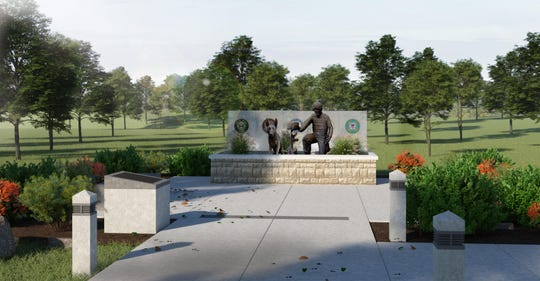 A memorial to be dedicated Wednesday at the College of the Ozarks.