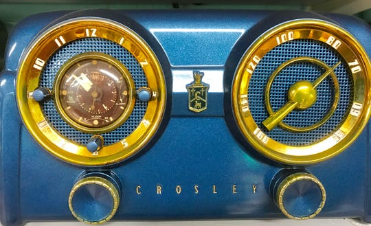This is one of over 8,000 radios in the collection of Richard Loban.