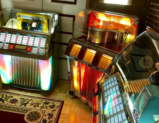 Richard Loban of Marionville owns about 60 jukeboxes. It's the one on the right that has been acting very strange.
