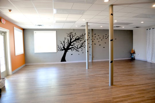 Tricia LaGrua opened her fitness and yoga studio called Phoenix Fitness and Yoga at the beginning of April. LaGrua, a certified yoga and fitness instructor, hopes to bring an environment for people to enjoy yoga, hot yoga, barre, low impact workouts, nutrition classes and more. The studio is located at Myers Corner in Fishersville.