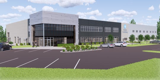 A rendering of Marten Machining's new headquarters, planned for 3017 Worth Drive in Stevens Point