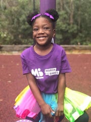 Layla Gaskin was born at 23 weeks and weighed a scant 1 pound, 4 ounces. Now 5 years old, Layla was named the local March of Dimes ambassador.