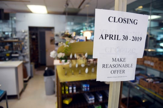 """After running an electrical repair and fixtures shop in Vero Beach for decades, Albert and Donna LaBonte, 95 and 89 respectively, will be closing Candlelite for good on April 30. """"We're dropping prices on everything, some of this stuff is free,"""" Albert said. """"If there's anything left, it'll go to a thrift store."""" Albert will turn 96 on the day the store closes."""