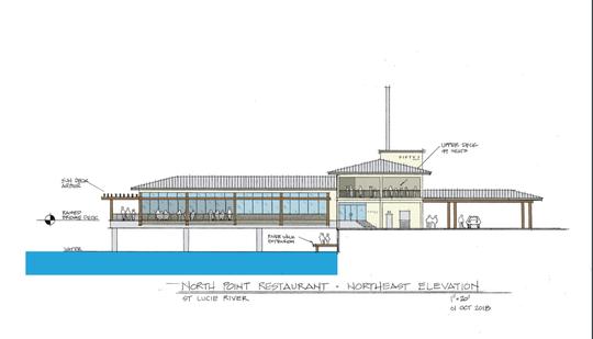 Northpoint restaurant rendering