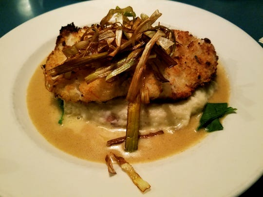 The Horseradish Grouper is one of the House Specialties.