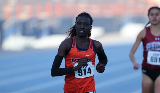 UTEP junior Winny Koech is the Conference USA runner of the week