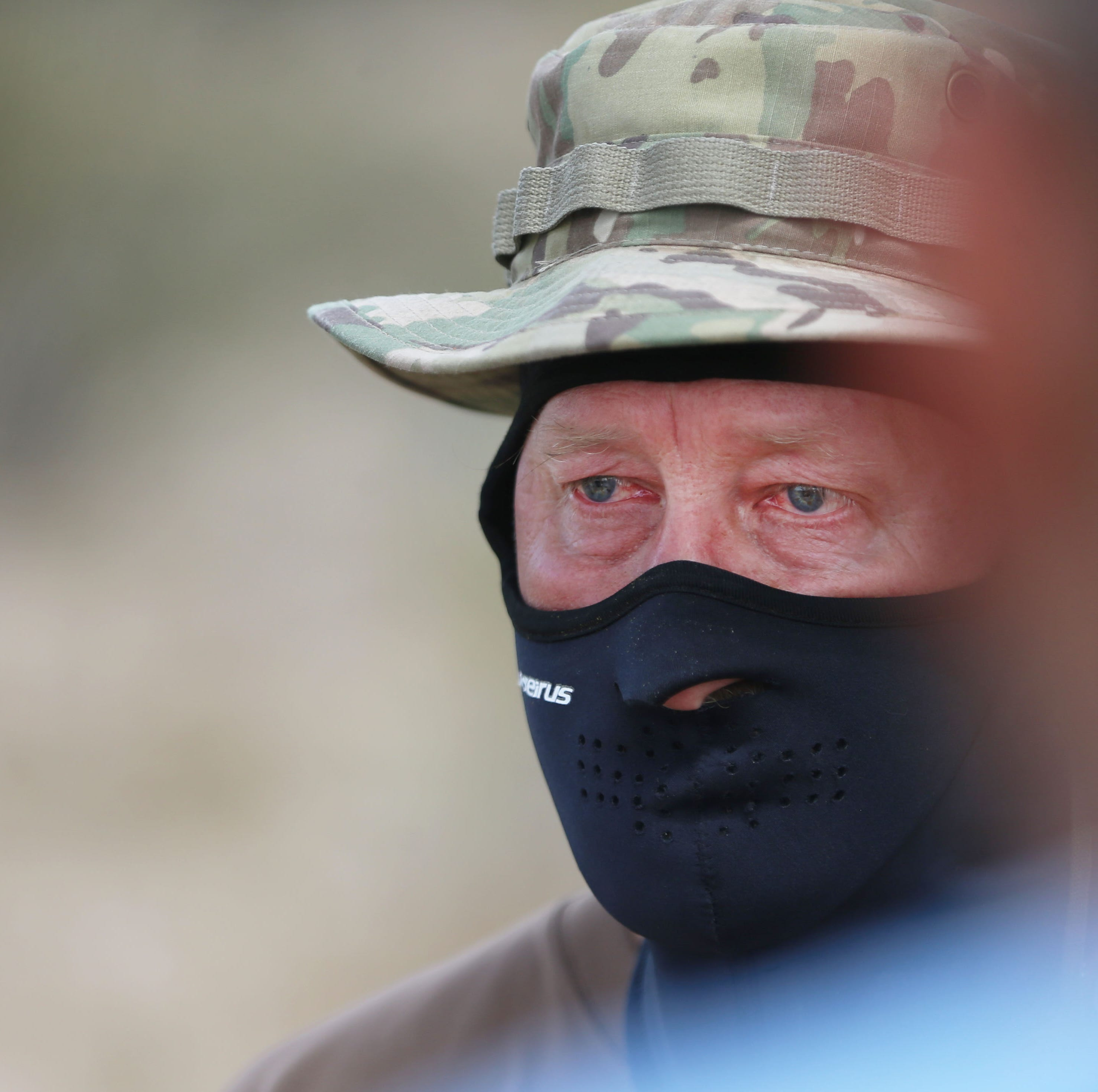 NM militia evicted from border campsite early; 'This is how they repay me,' vet cries