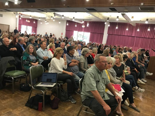 More than 250 people attended a community workshop on the plan to revitalize Fisherman's Wharf.