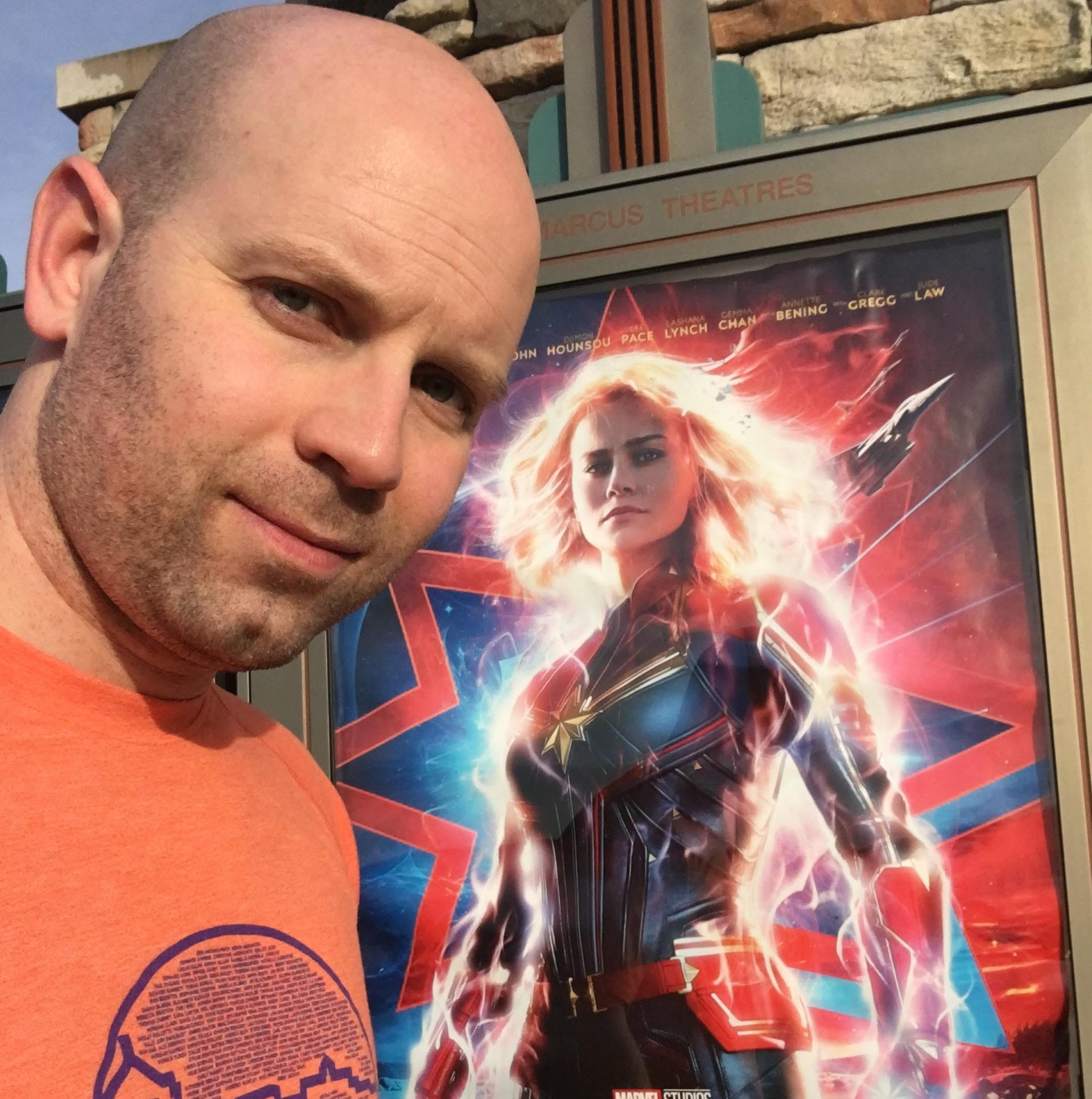 Wisconsin man watches 'Captain Marvel' 116 times, gets Brie Larson shoutout, possible record