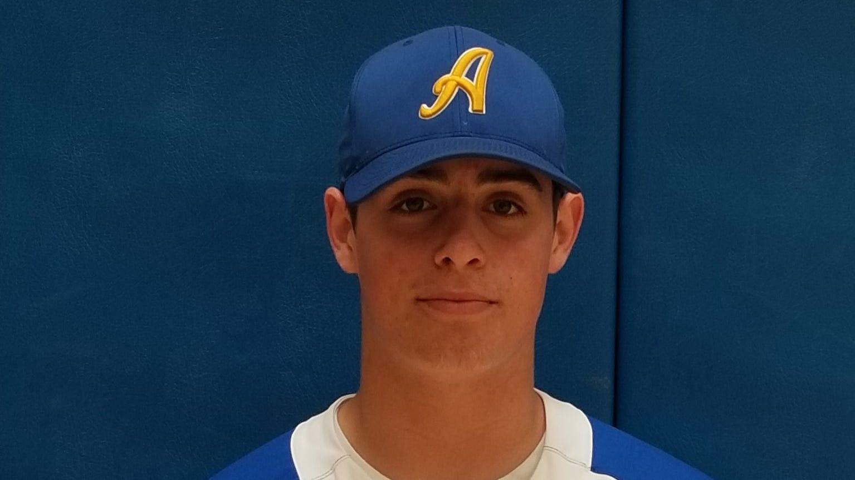 Ardsley senior Brett Loccisano is the lohud baseball Player of the Week for April 15-21, 2019.