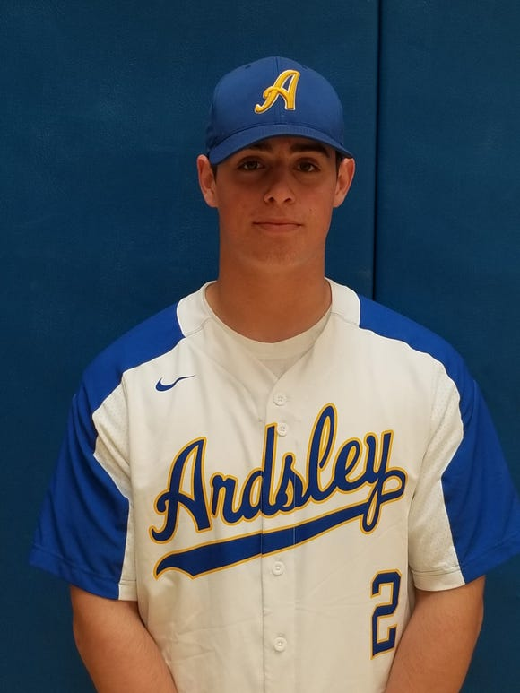 Ardsley senior Brett Loccisano is the lohud baseball Player of the Week for April 15-21, 2019.