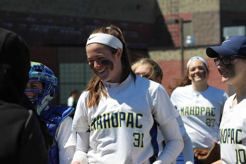 Mahopac sophomore Shannon Becker was named the lohud softball Player of the Week for the second time this season on April 23, 2019.