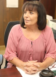 Donna Rose who is the new receiver of Taxes for Haverstraw was photographed in her office on April 23, 2019.