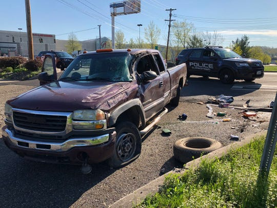 A hit-and-run crash occurred on Route 59 near the Palisades Center in Clarkstown on April 23, 2019.