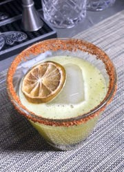 El Vincente, a popular margaritas at Dos Marias in Yonkers, named after a local policeman.