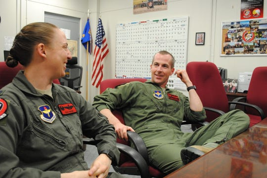 Lt. Cols. Elia and Mark Hickie