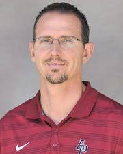Justin Leslie is the new men's basketball coach for Midwestern State.
