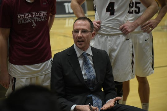 Justin Leslie has been named the 10th head coach in Midwestern State's men's basketball history.