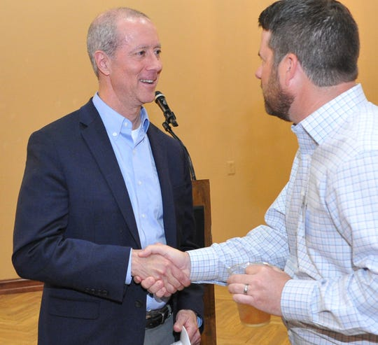 U.S Congressman Mac Thornberry met with and spoke to members of the North Texas Home Builders Asociation Tuesday afternoon.