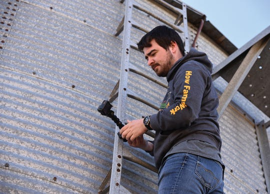 Serving as a farming resource comes naturally to Ryan Kuster as agriculture has a long history in the family.