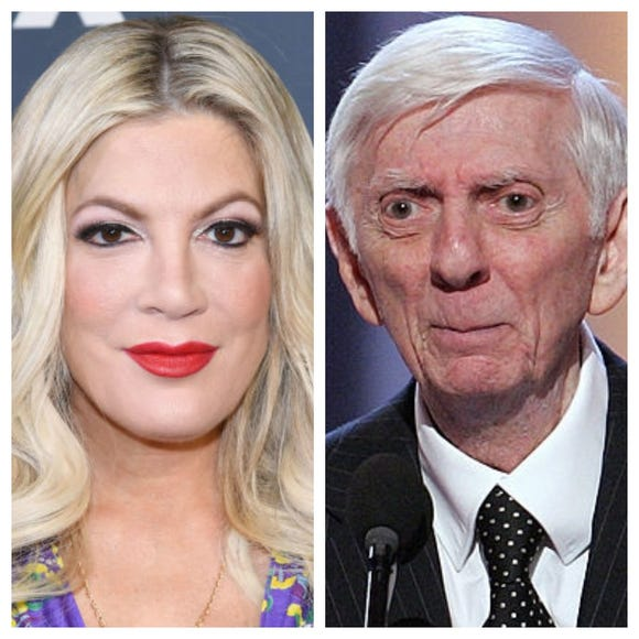 Tori Spelling remembered her father and TV hit-maker fondly on his birthday.