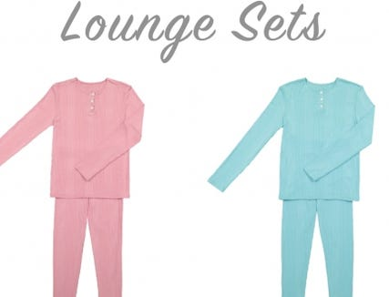 Go Couture Children's Loungewear.