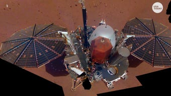 Three distinct sounds were detected by NASA's Insight Lander while sitting on Mars' surface.