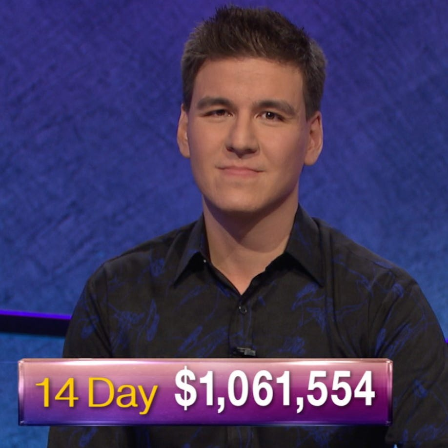 Jeopardy! winner James Holzhauer makes history on TV game show by earning more than $1M
