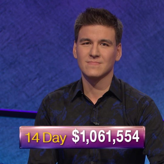 James Holzhauer has made a run for history