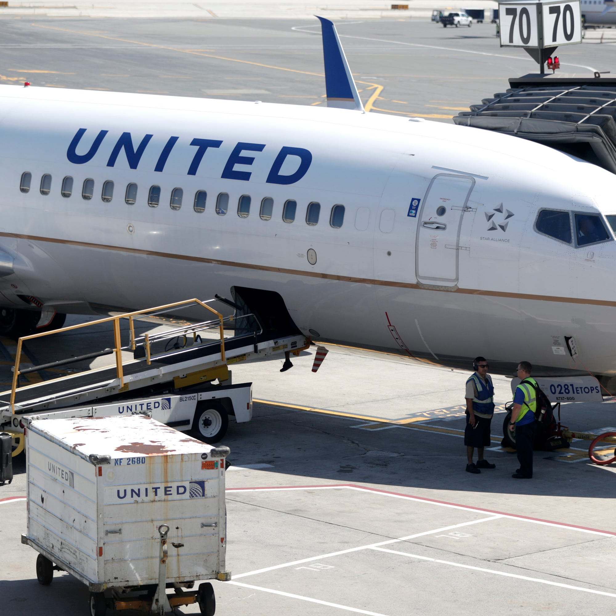 A United aircraft.