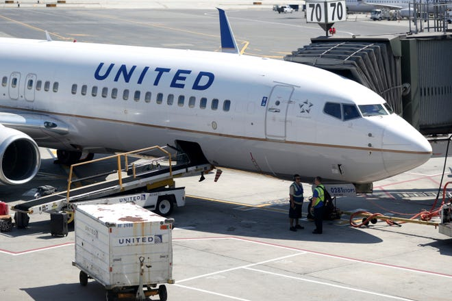 A United aircraft.