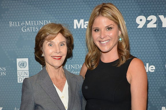 Laura Bush's advice to Jenna Bush Hager on pregnancy guilt and infertility is beautiful.