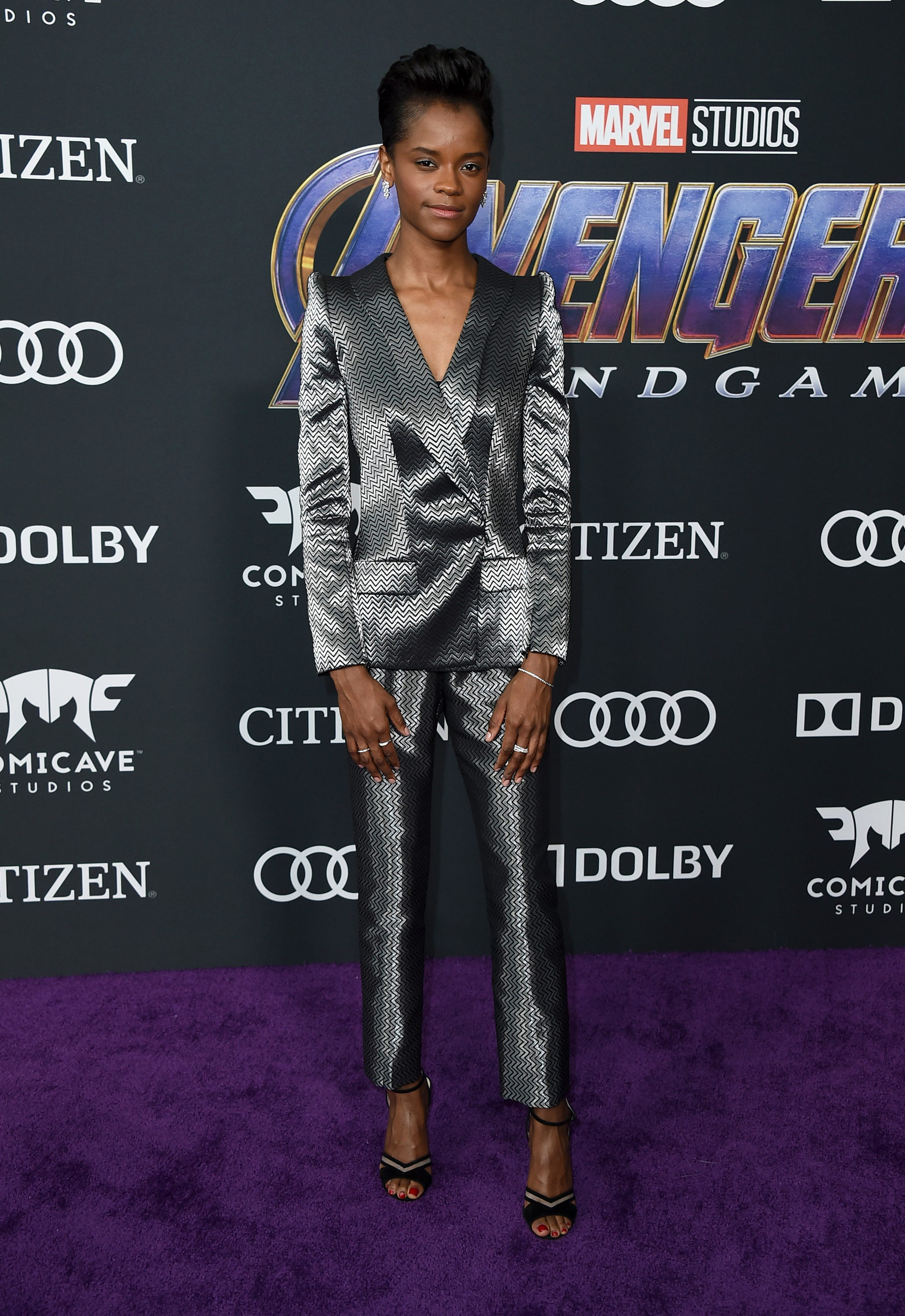 'Black Panther' star Letitia Wright tweets controversial vaccine video, says she's being canceled