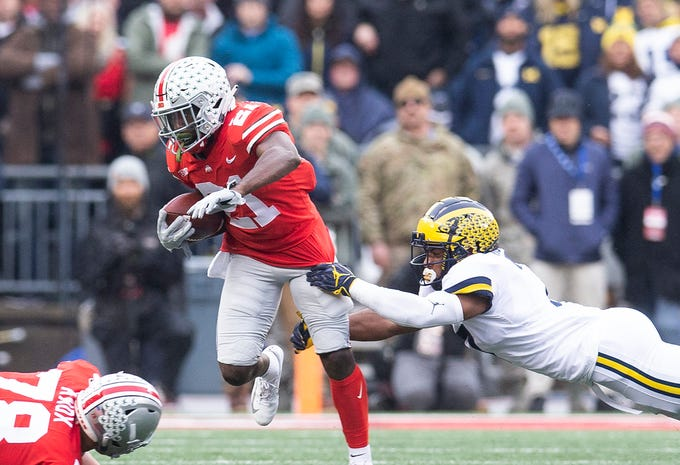50. Parris Campbell, WR, Ohio State