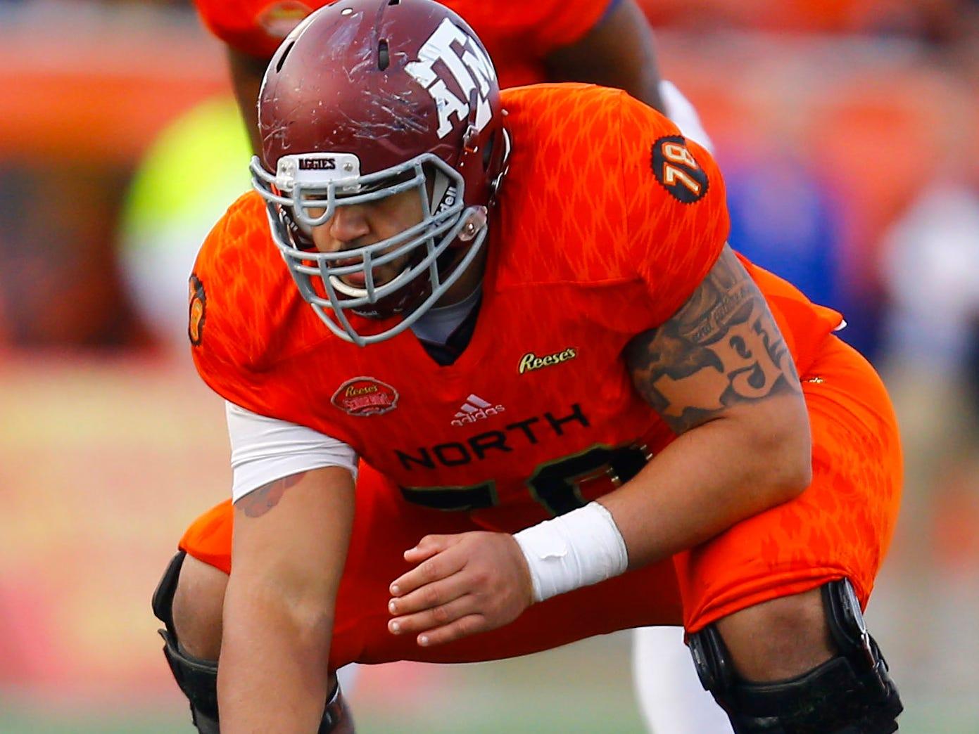 39. Erik McCoy, C, Texas A&M